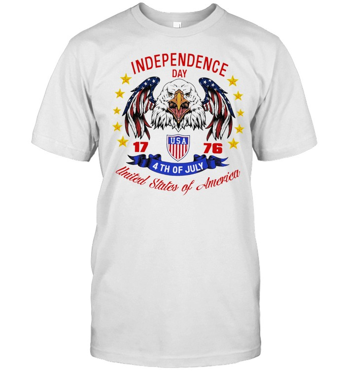Eagle independence day USA 1776 4th of july united states of America shirt Classic Men's T-shirt