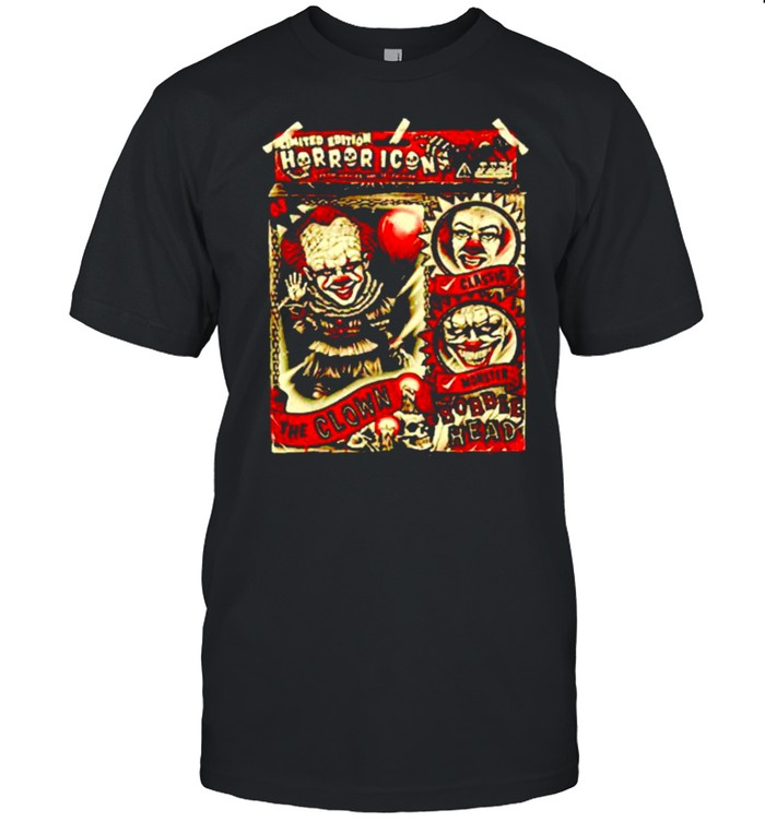 Horror icon Pennywise the Clown Bobblehead shirt Classic Men's T-shirt