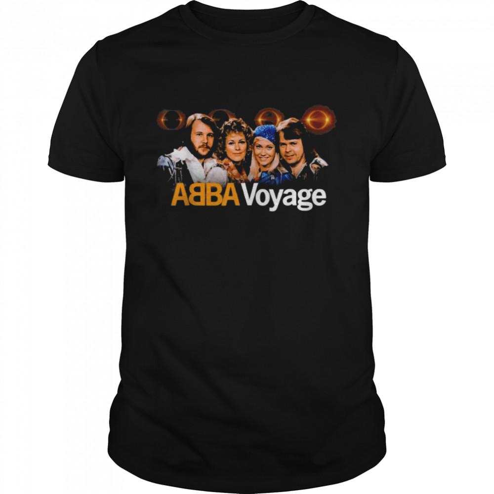 ABBA 2021 Voyage Music T-Shirt