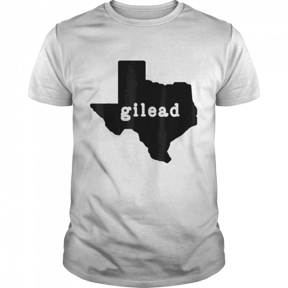 gilead Texas Map shirt