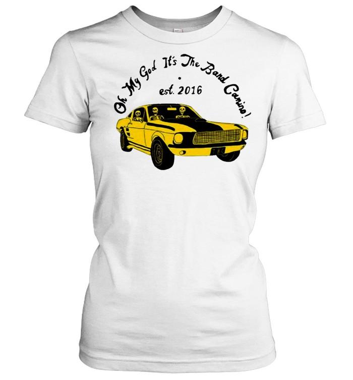 the band camino merch omg its the band camino shirt Classic Women's T-shirt