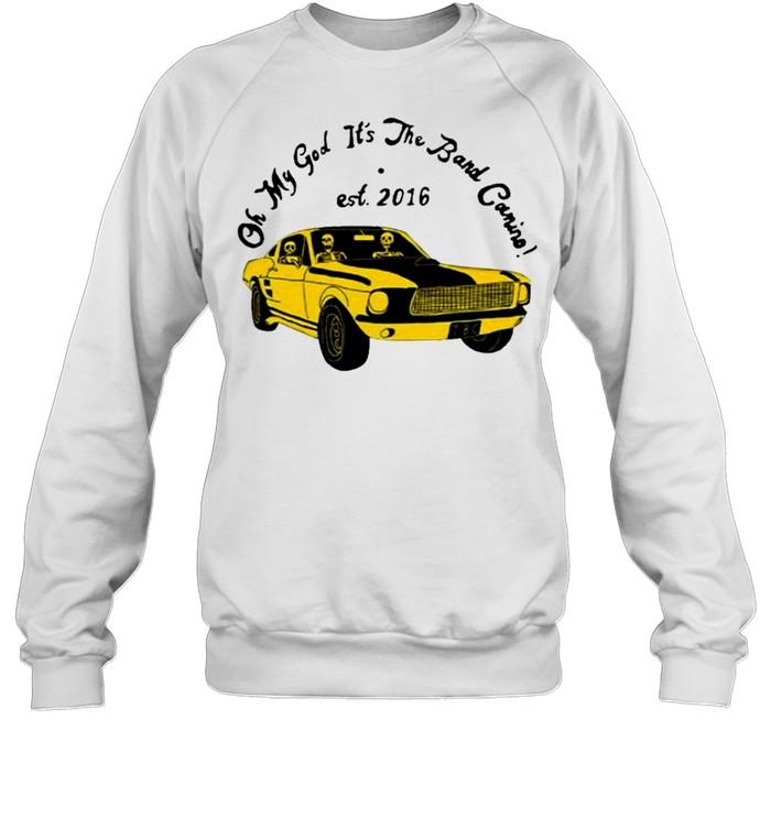 the band camino merch omg its the band camino shirt Unisex Sweatshirt