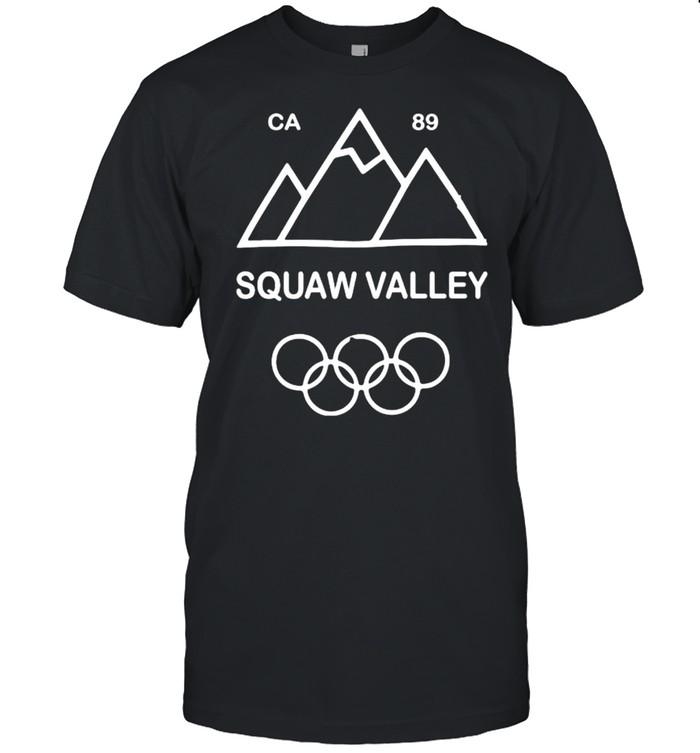 Squaw valley california 89 shirt