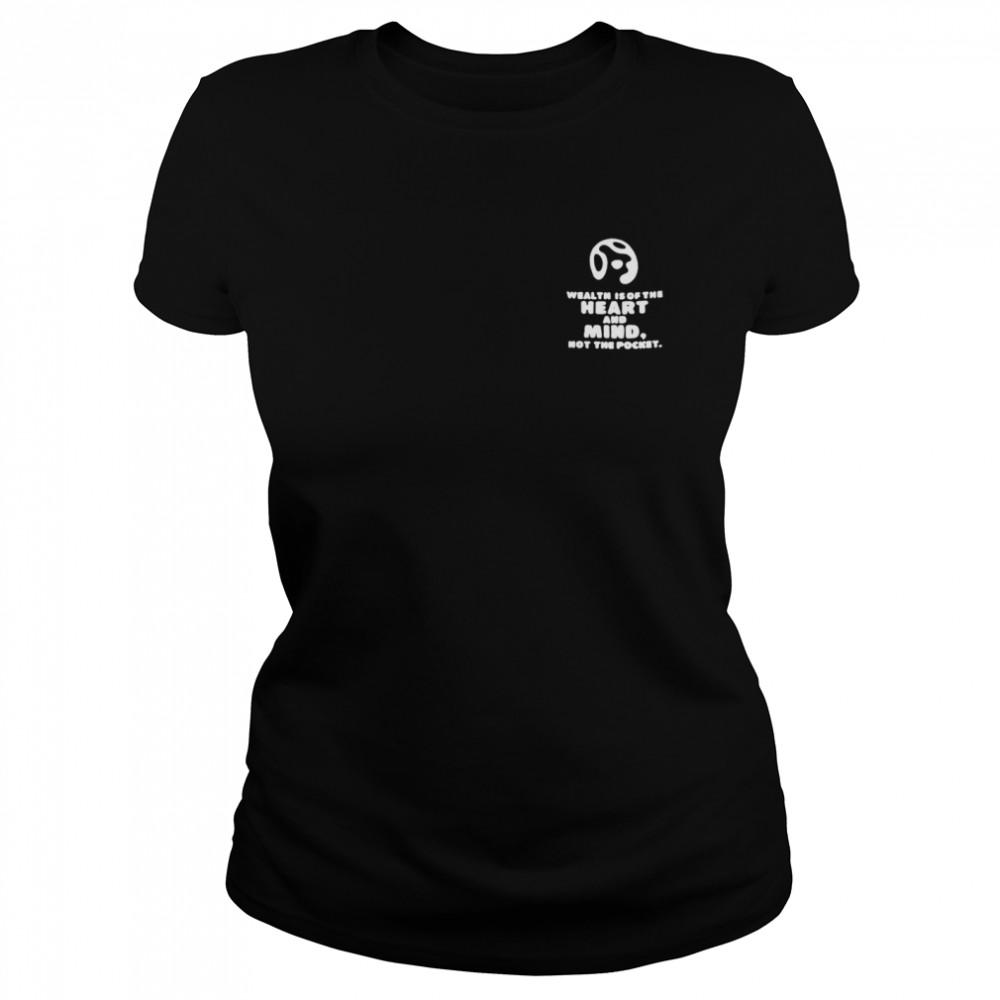 Billionaire boys club heart and mind shirt Classic Women's T-shirt