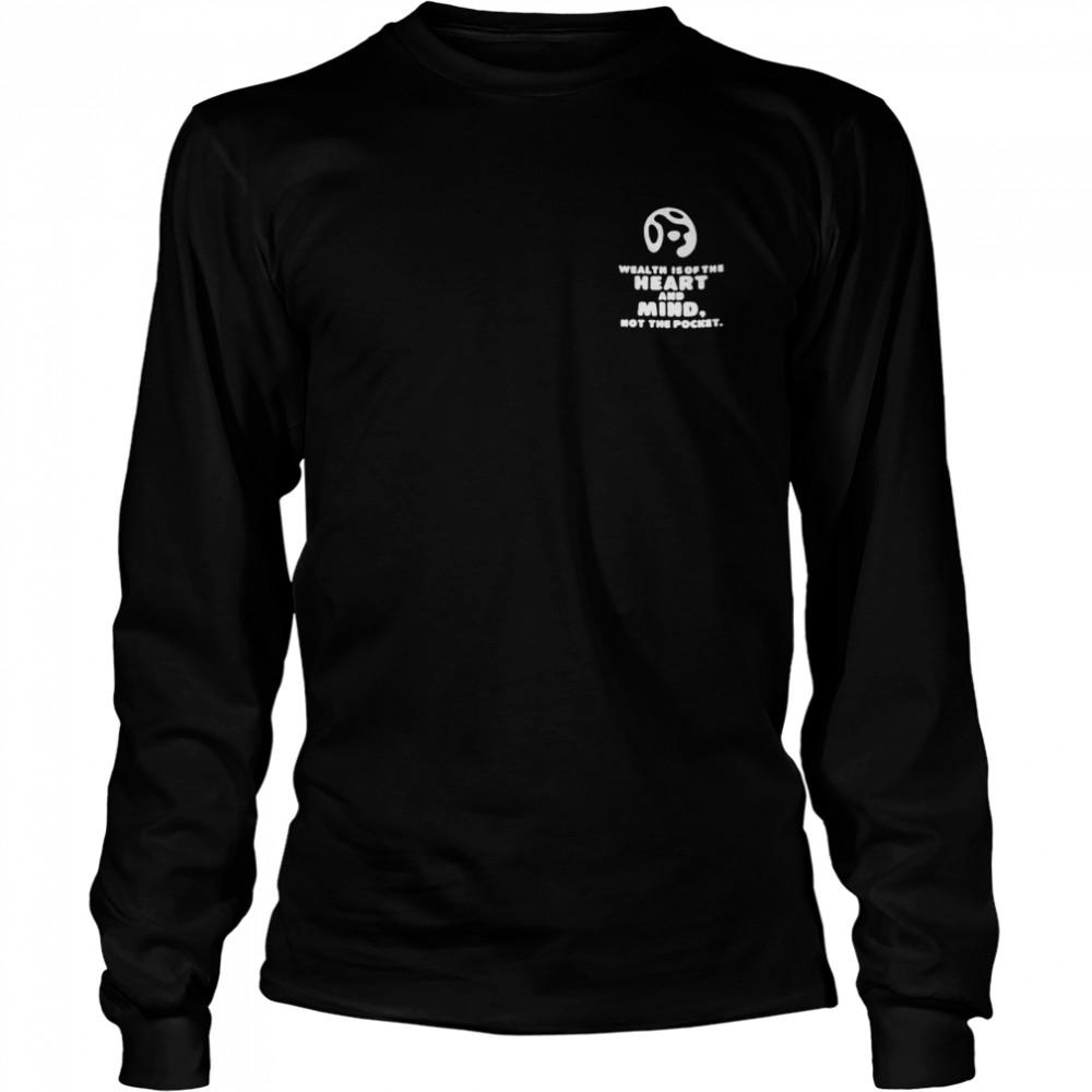Billionaire boys club heart and mind shirt Long Sleeved T-shirt