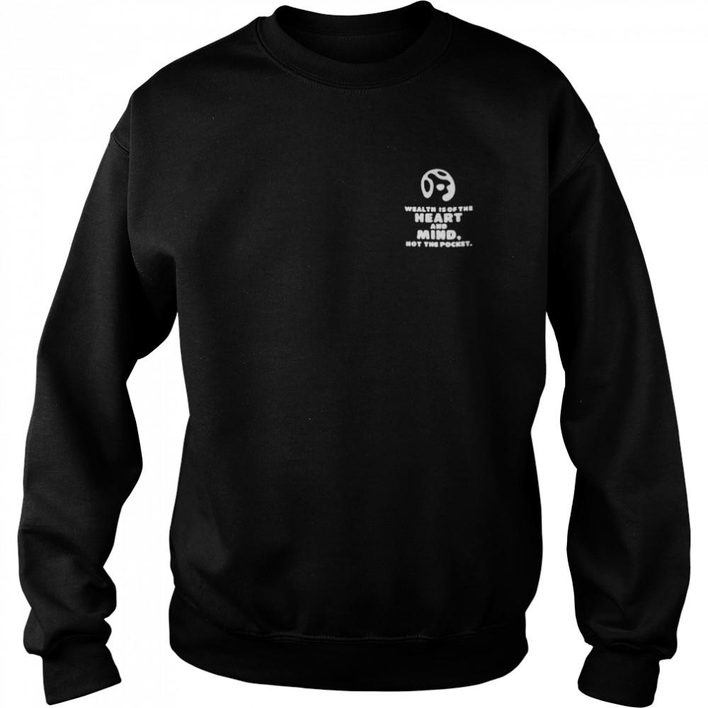 Billionaire boys club heart and mind shirt Unisex Sweatshirt