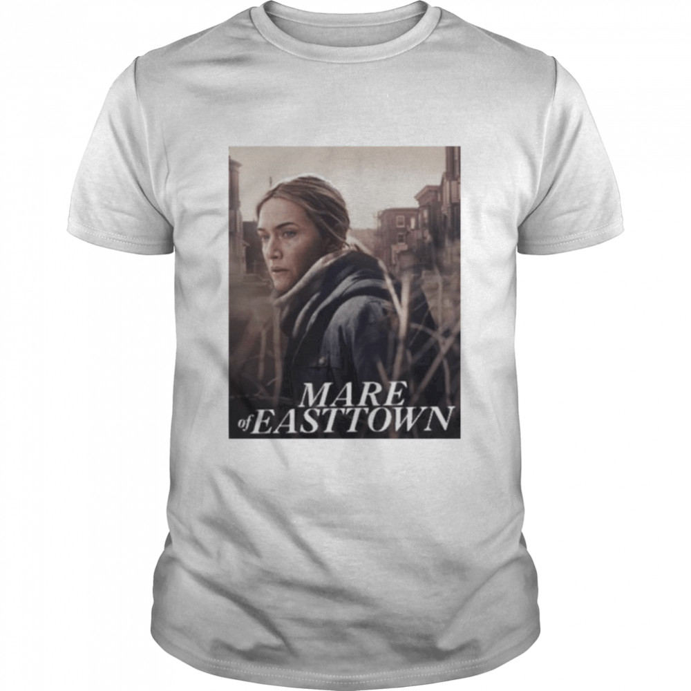 Kate winslet mare of easttown casey mink shirt