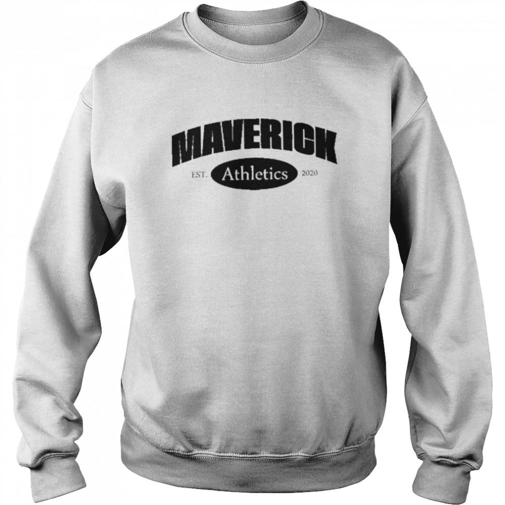 Logan Paul maverick athletics shirt Unisex Sweatshirt