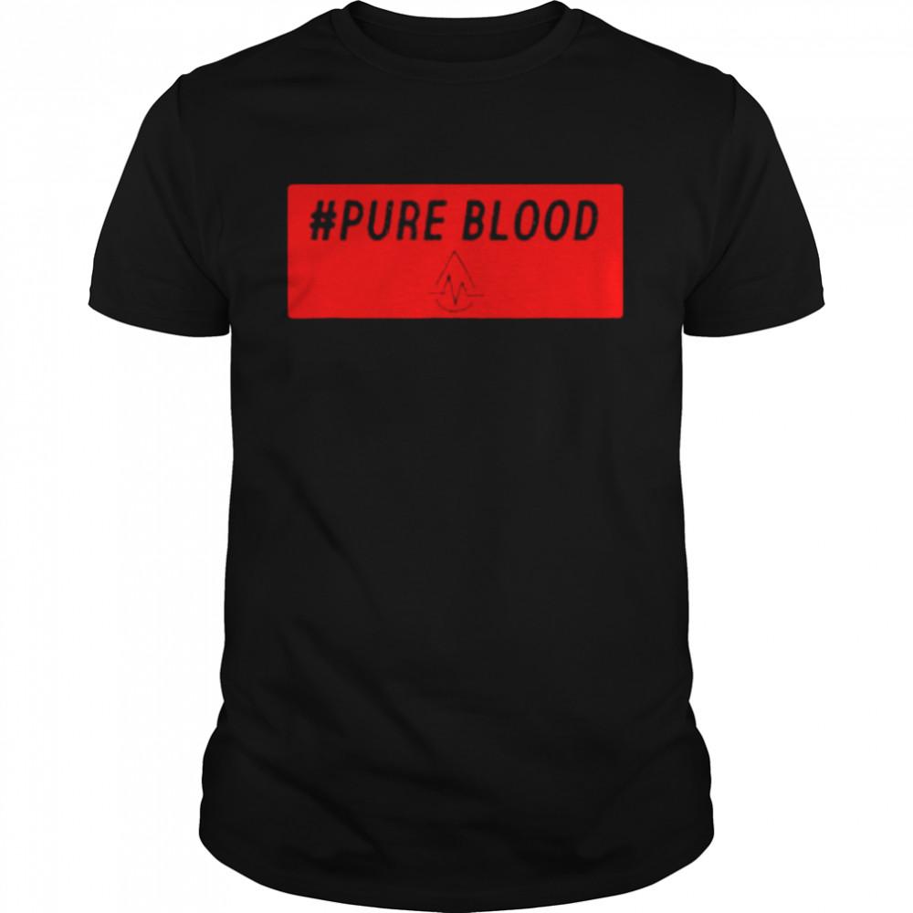 Pure Blood Movement 2021 T-Shirt