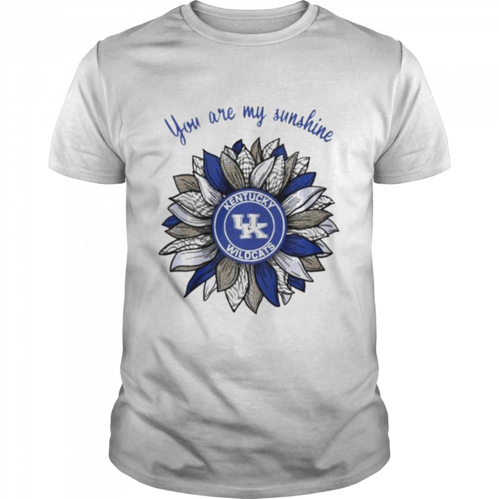 Sunflower you are my sunshine Kentucky Wildcats shirt