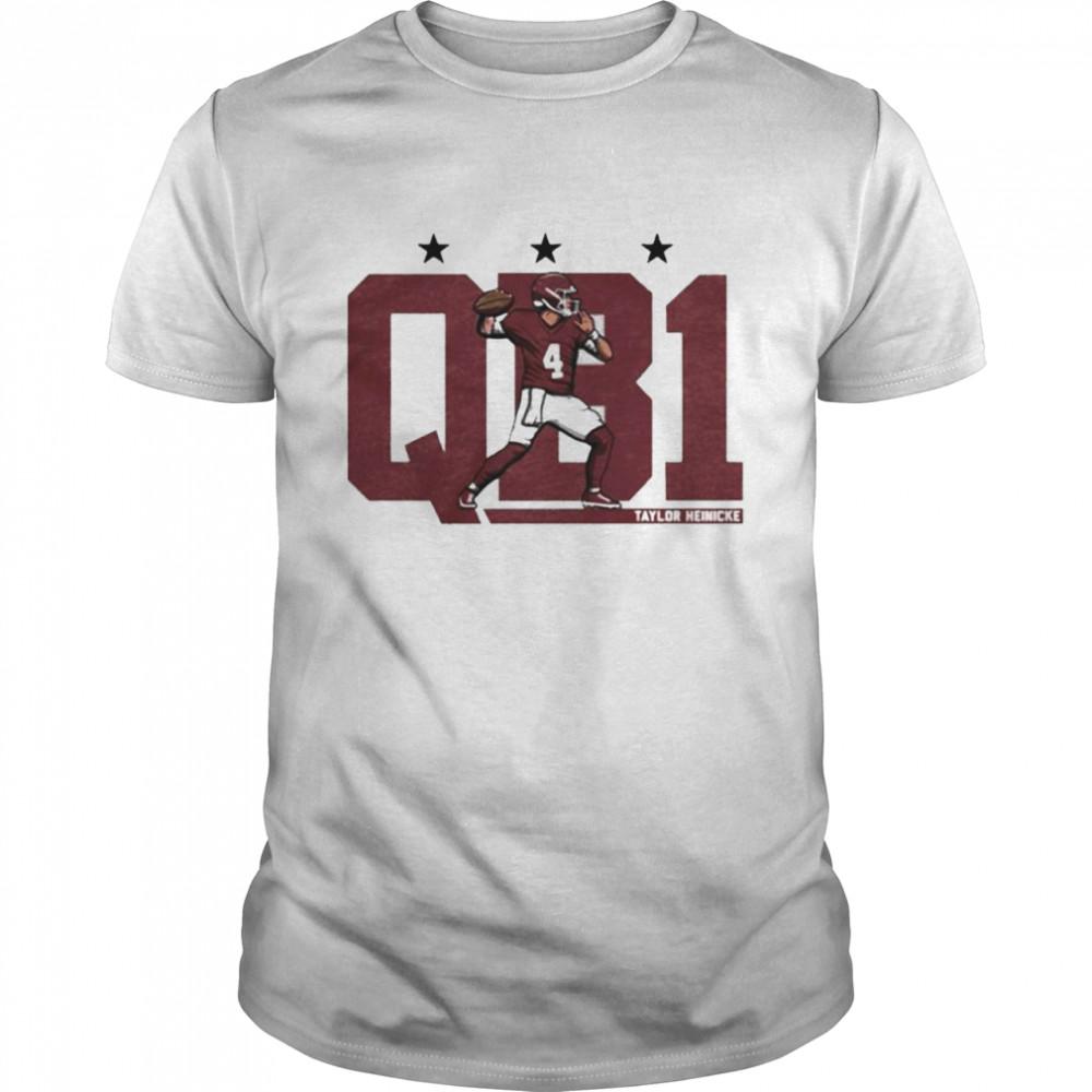 Taylor Heinicke QB1 shirt