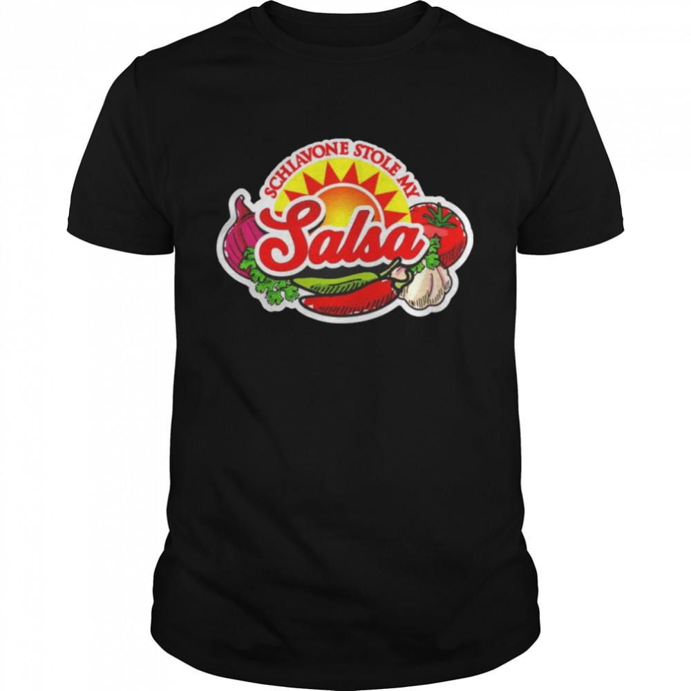 Tony Schiavone schiavone stole my salsa shirt
