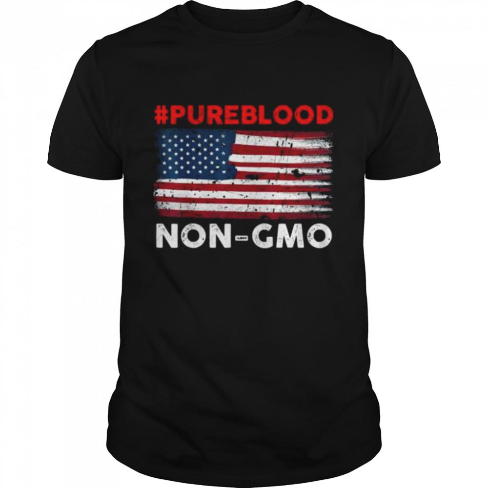 #Pureblood Non-Gmo American flag shirt
